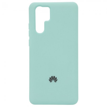 Чехол Silicone Case для Huawei P30 Pro Мятный (4400)