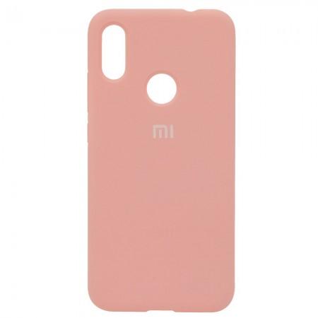 Чехол Silicone Case для Xiaomi Redmi Note 7 Розовый (4315)