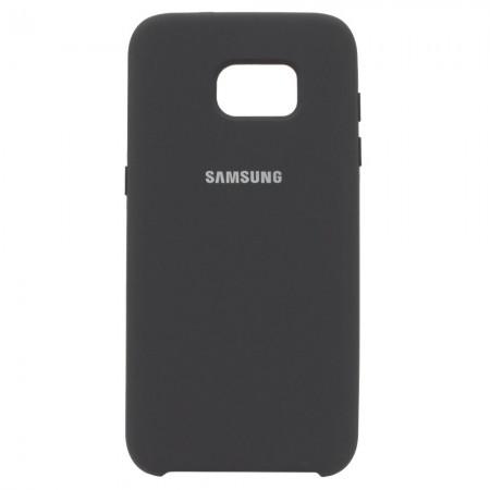 Чехол Silicone Case для Samsung Galaxy S7 Edge Серый (4519)