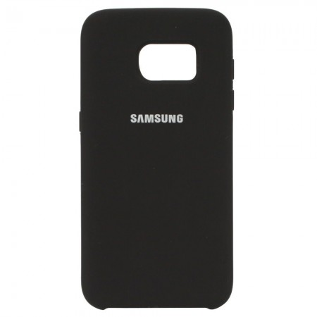 Чехол Silicone Case для Samsung Galaxy S7 Чёрный (4525)
