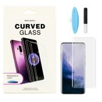 Захисне скло 5D для OnePlus 7 Pro UV (Рідкий клей)