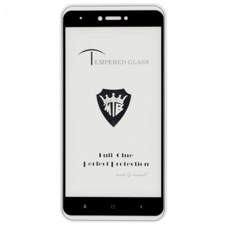 Защитное стекло Mietable для Xiaomi Redmi Note 4X Full Glue Black (4867)