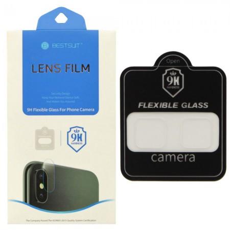 Гибкое защитное стекло BestSuit Flexible для камеры Samasung Galaxy A8 / A8 Plus Camera Lens (3789)