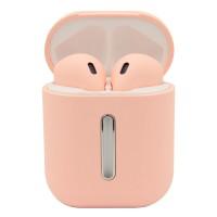Беспроводные Bluetooth наушники LF Q8L TWS Pink (5838)