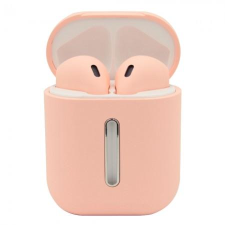 Бездротові Bluetooth-навушники LF Q8L TWS Pink (5838)