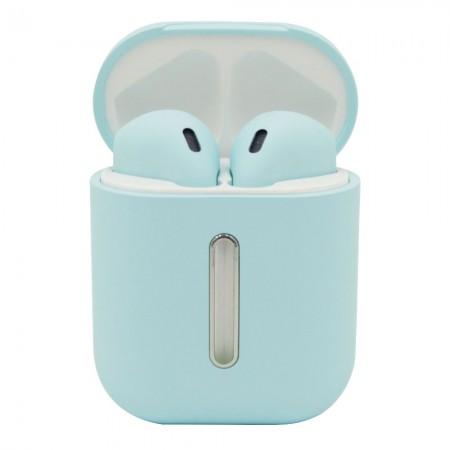 Беспроводные Bluetooth наушники LF Q8L TWS Blue (5309)