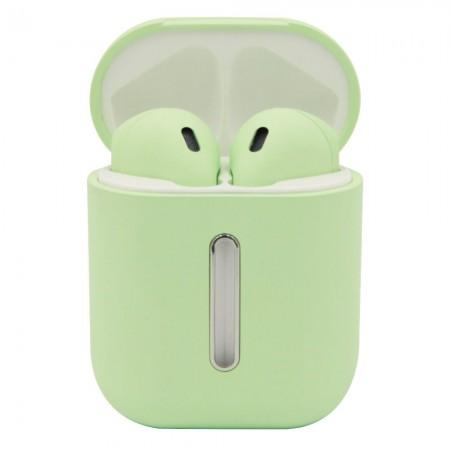 Беспроводные Bluetooth наушники LF Q8L TWS Light Blue (5839)