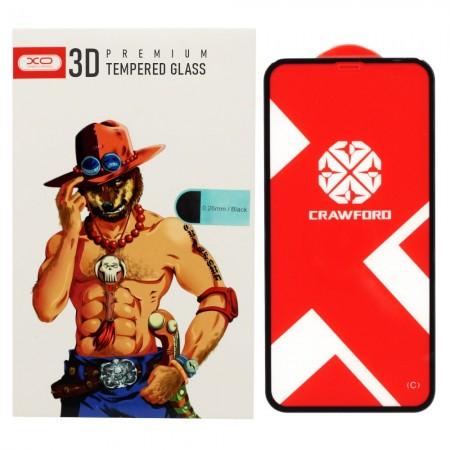 Защитное стекло XO для Apple iPhone 11 5D Premium Glass (6047)