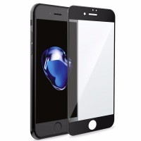 Защитное стекло 5D для iPhone 6 Plus / 6S Plus BLACK (черное)