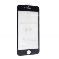Защитное стекло 5D для iPhone 6 / 6S BLACK (черное)