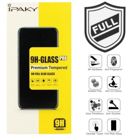 Защитное стекло IPAKY для Xiaomi Redmi 4X BLACK (черное)