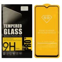 Защитное стекло Digital для Samsung A30 (SM-A305F) BLACK Чёрное (4068)
