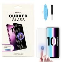 Защитное стекло 5D для Samsung Galaxy Note 10 Plus UV (Жидкий клей)
