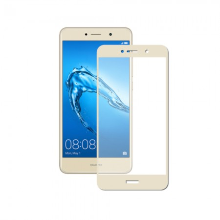 Защитное стекло Full Cover для Huawei P Smart GOLD (золотое)