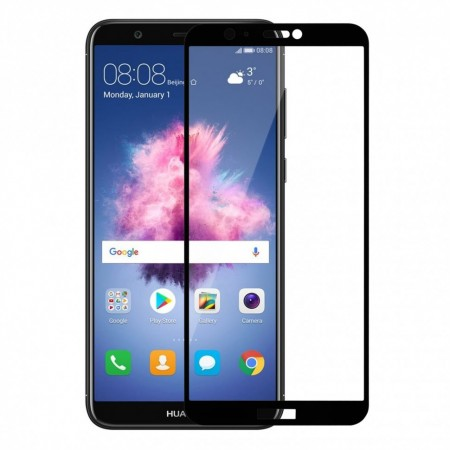 Защитное стекло Full Cover для Huawei P Smart BLACK (черное)