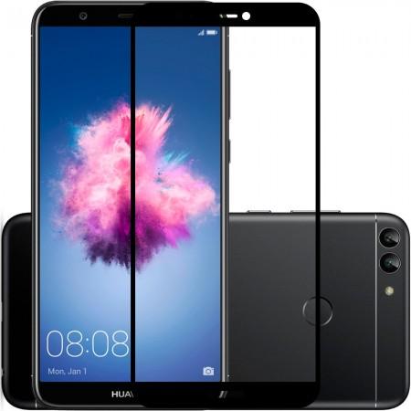 Защитное стекло Full Cover Huawei P Smart Plus BLACK (черное)