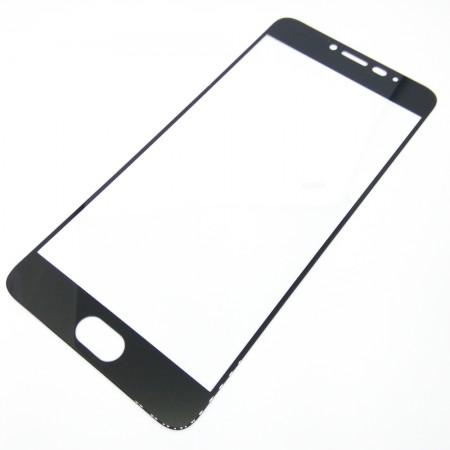 Защитное стекло Full Cover для Meizu M6 Note BLACK (черное)