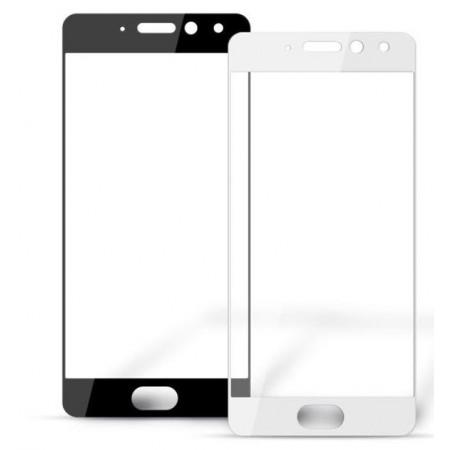 Защитное стекло Full Cover для Meizu Pro 7 Plus WHITE (белое)
