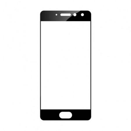 Защитное стекло Full Cover для Meizu Pro 7 Plus BLACK (черное)