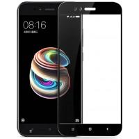Защитное стекло Full Cover для Xiaomi Mi A1 Mi 5X BLACK (черное)