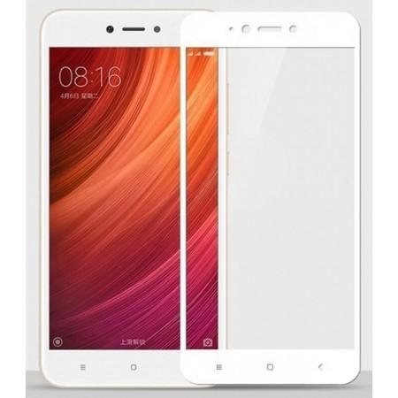 Защитное стекло Full Cover для Xiaomi Redmi Note 5A Prime WHITE (белое)