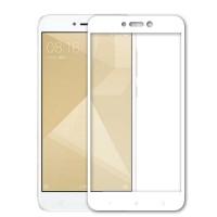 Защитное стекло Full Cover для Xiaomi Redmi Note 4X WHITE (белое)